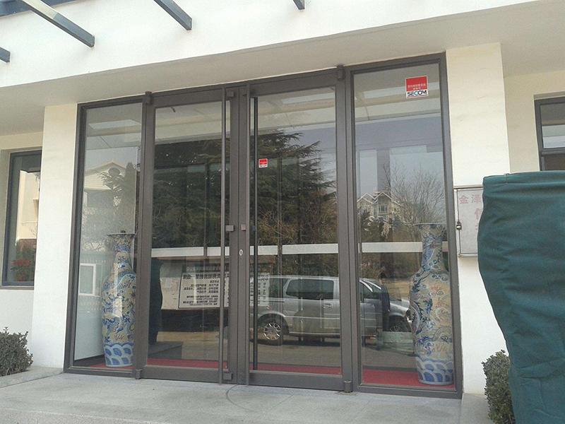 济南玻璃门安装维修